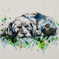Kathryn Callaghan - 'After a Hard Days' Dog